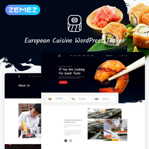 Foodhouse - WordPress Template based on Bootstrap