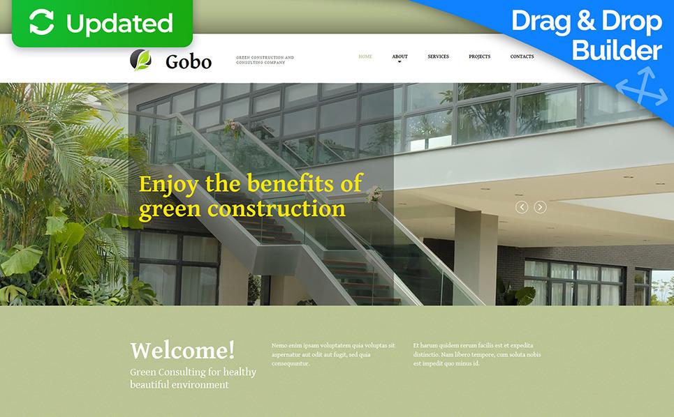 Build a website for exterior designer responsive moto for Exterior design templates
