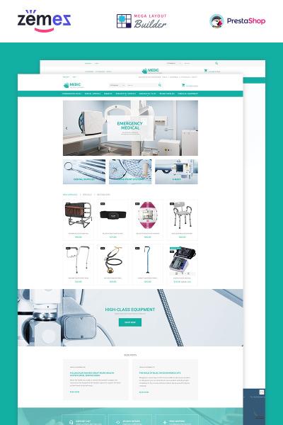 Medical Equipment PrestaShop Theme #53790