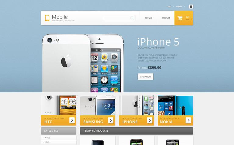 Mobile - Electronics Store PrestaShop Theme
