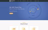 Modello Siti Web Responsive #53705 per Un Sito di Servizi Bancari