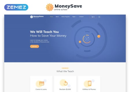 MoneySave Online School HTML5