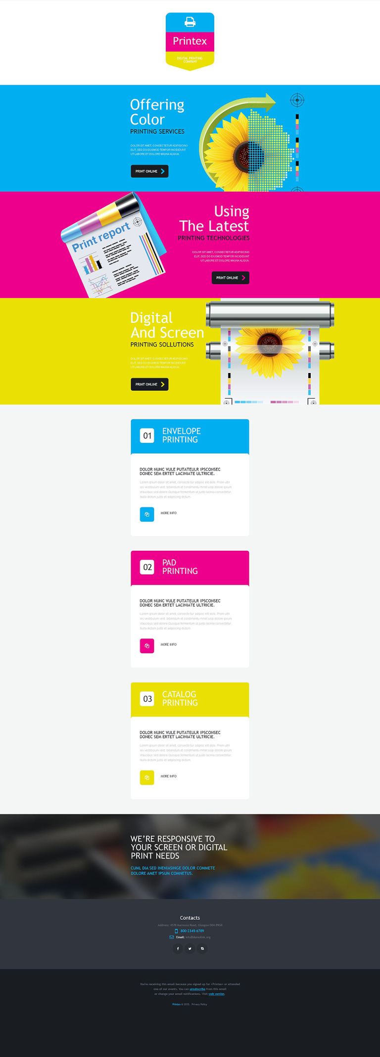 Print Shop Responsive Newsletter Template New Screenshots BIG