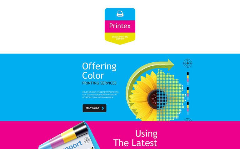 print shop responsive newsletter template 53745