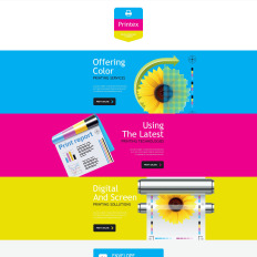 Print Shop Newsletter Templates TemplateMonster - Print newsletter templates