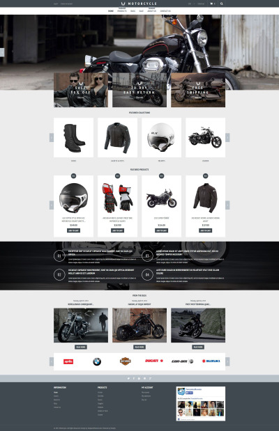 Bike Shop Responsive Shopify Motiv