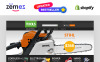 "Responzivní Shopify motiv ""Tools  Equipment"" New Screenshots BIG"