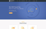 Reszponzív Bankok témakörű  Weboldal sablon