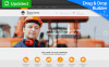 Reszponzív Építészet témakörű  Moto CMS 3 sablon New Screenshots BIG