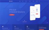 Reszponzív PRO.Soft - Software Development Company Multipage HTML5 Weboldal sablon