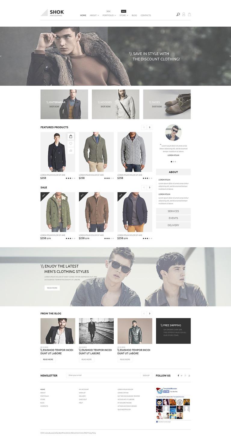 Shok WooCommerce Theme New Screenshots BIG