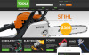 "Shopify Theme namens ""Tools  Equipment"" New Screenshots BIG"