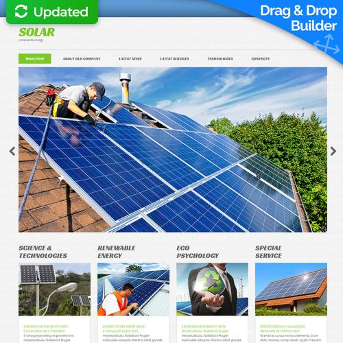 Solar   - MotoCMS 3 Template based on Bootstrap