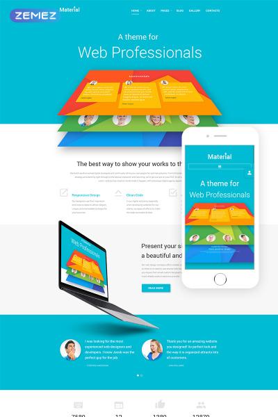 Template Joomla Responsive #53797 per Un Sito di Web Design #53797