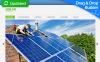 Templates Moto CMS 3 Flexível para Sites de Energia Solar №53742 New Screenshots BIG