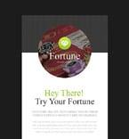 Casino Newsletter  Template 53804