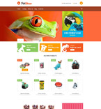 Animals & Pets VirtueMart  Template 53805