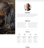 Personal Page Website  Template 53810