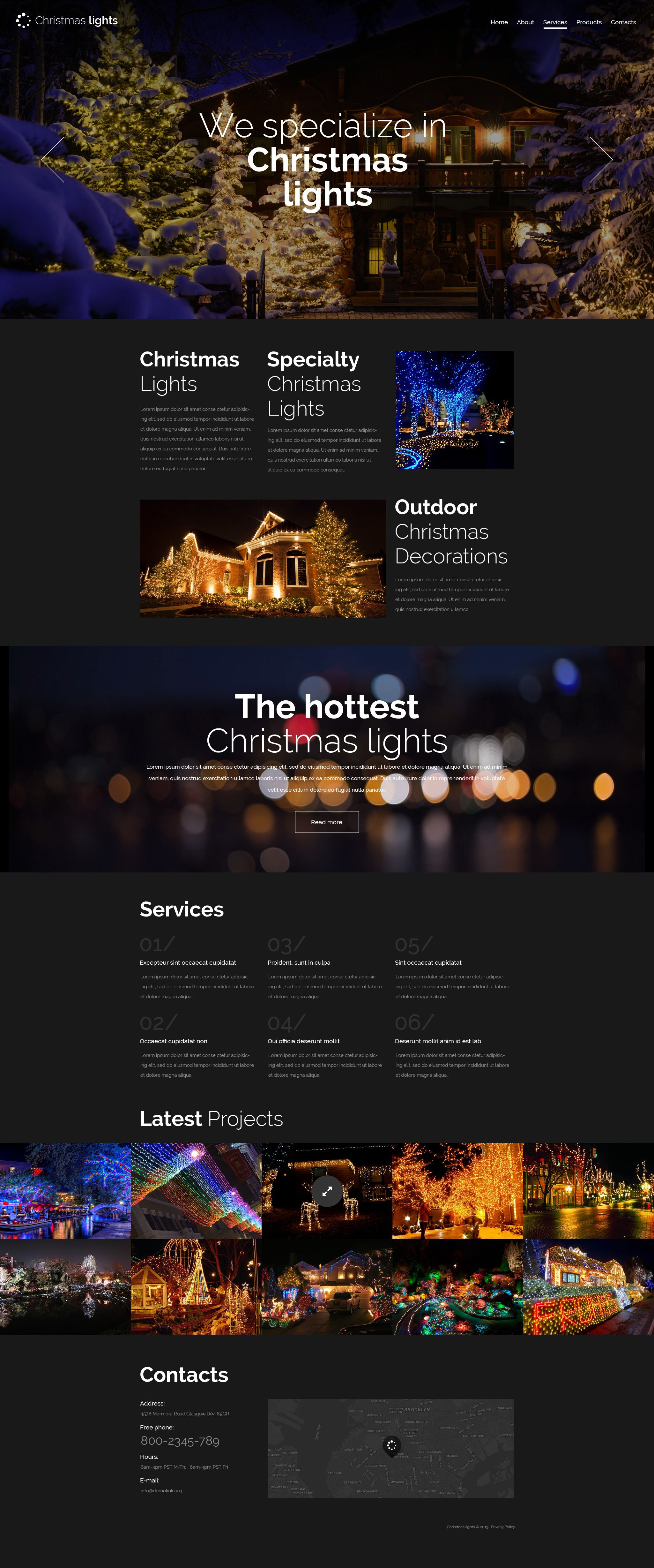 The Christmas Lights New Year Holiday Bootstrap Design 53814, one of the best website templates of its kind (most popular, christmas), also known as Christmas Lights New Year holiday website template, Santa Claus fir website template, tree website template, toys website template, games website template, ties website template, snowmen website template, baskets website template, candle website template, accessory website template, cards website template, socks website template, flower website template, jewelry website template, animal website template, frames website template, delivery website template, decoration website template, congratulation website template, joy website template, collection website template, holographic website template, train and related with Christmas Lights New Year holiday, Santa Claus fir, tree, toys, games, ties, snowmen, baskets, candle, accessory, cards, socks, flower, jewelry, animal, frames, delivery, decoration, congratulation, joy, collection, holographic, train, etc.