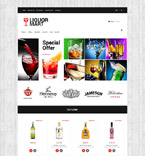 Food & Drink OpenCart  Template 53816