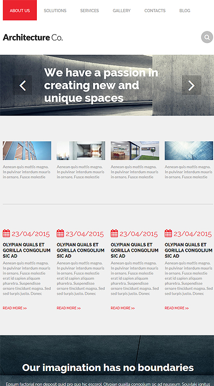 Drupal Template 53817 Main Page Screenshot