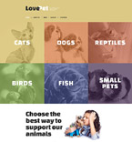 Animals & Pets Drupal  Template 53821