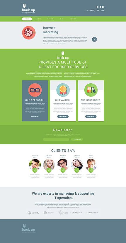 Drupal Template 53822 Main Page Screenshot