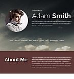 Art & Photography Moto CMS 3  Template 53824