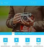 Art & Photography Moto CMS 3  Template 53831