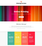 Art & Photography Landing Page  Template 53837