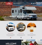 Travel Website  Template 53850