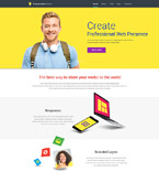 Web design WordPress Template 53857