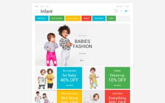 Infant Clothing Store PrestaShop Theme
