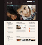 Charity Website  Template 53864