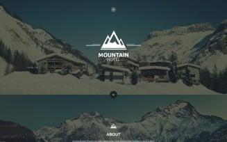 Mountain Hotel Website Template