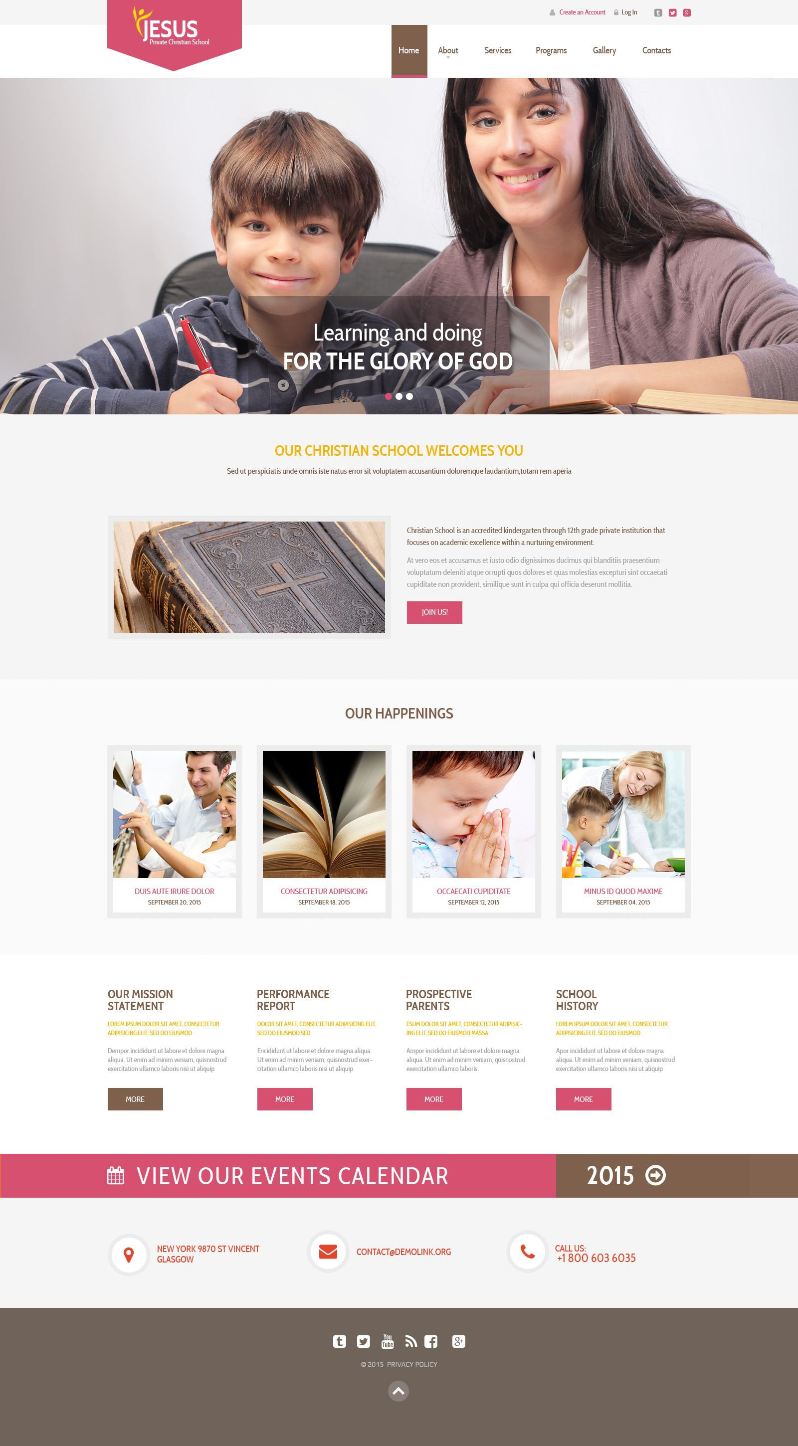 The Jesus Private Christian School Responsive Javascript Animated Design 53867, one of the best website templates of its kind (religious, most popular), also known as Jesus private Christian school website template, education center website template, e-learning website template, study website template, learn website template, training website template, consulting website template, tutorial website template, distance website template, express website template, learning and related with Jesus private Christian school, education center, e-learning, study, learn, training, consulting, tutorial, distance, express, learning, etc.