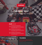 Sport Landing Page  Template 53869