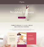 Wedding Landing Page  Template 53871