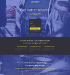 Cars Landing Page  Template 53872