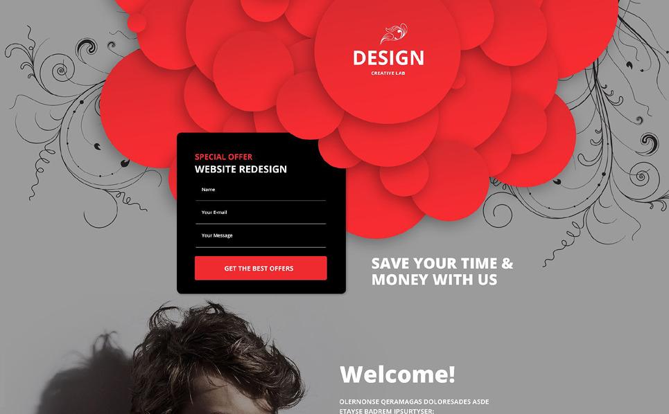 Reszponzív Design studiók  Nyítóoldal sablon New Screenshots BIG