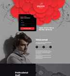 Web design Landing Page  Template 53873