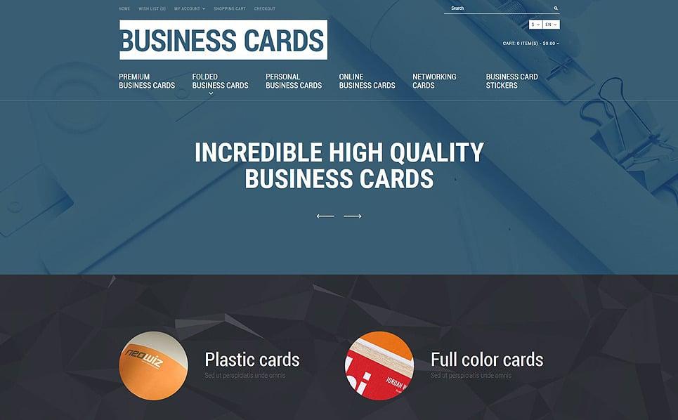 Responsywny szablon OpenCart Sklep Wizytówek #53876 New Screenshots BIG