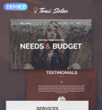 Art & Photography WordPress Template 53878