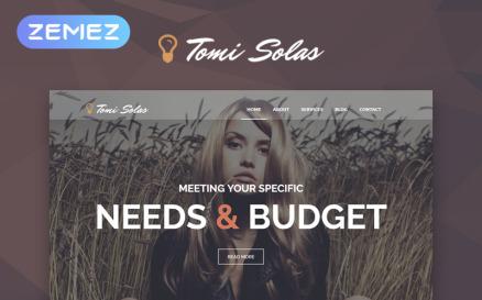 Tomi Solas WordPress Theme