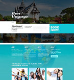 Travel WordPress Template 53879