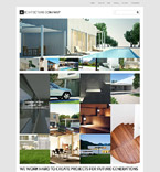 Architecture WordPress Template 53880