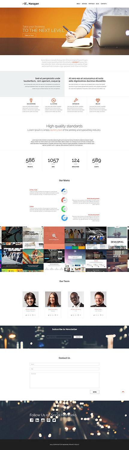 WordPress Theme/Template 53881 Main Page Screenshot