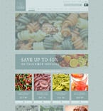 Food & Drink ZenCart  Template 53886