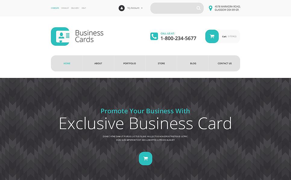 Адаптивний WooCommerce шаблон на тему бізнес та послуги New Screenshots BIG