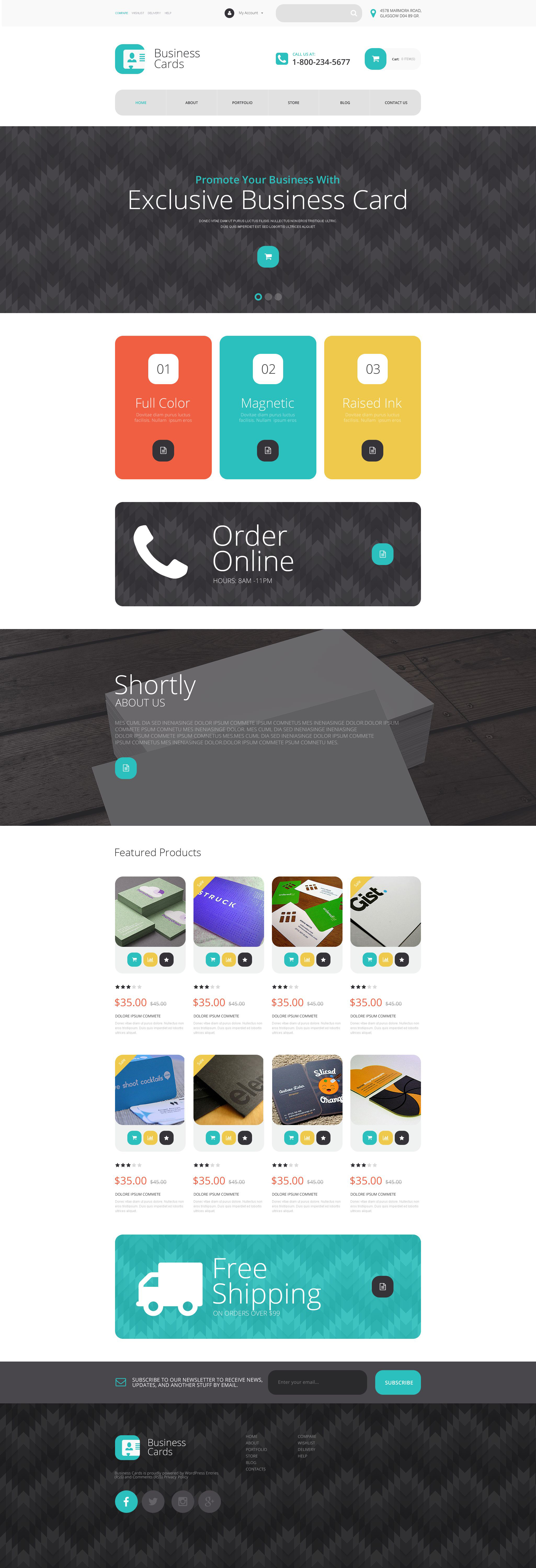 The Business Special Cards WooCommerce Design 53887, one of the best WooCommerce themes of its kind (transportation, most popular), also known as business special cards WooCommerce template, services WooCommerce template, products WooCommerce template, shopping cart WooCommerce template, style WooCommerce template, prices and related with business special cards, services, products, shopping cart, style, prices, etc.